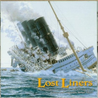 """Lost Liners- Expresses of the Atlantic""- Michael Whalen,美版"
