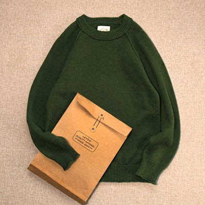 ☆R&M☆日系簡約小清新長袖針織衫毛衣(三色)~現貨+預購
