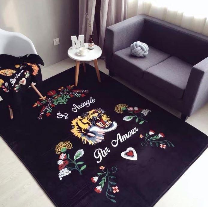 【NoComment】居家潮流 高質感厚磅地毯 兩款 ZARAHOME IKEA STUSSY