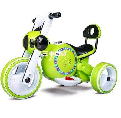 「三季旗艦店 超酷 孩子王兒童電動車摩托車三輪車可坐人寶寶童車女電瓶車玩具車男 755」