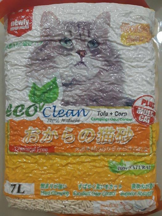 《全新品》艾可豆腐貓砂~玉米味