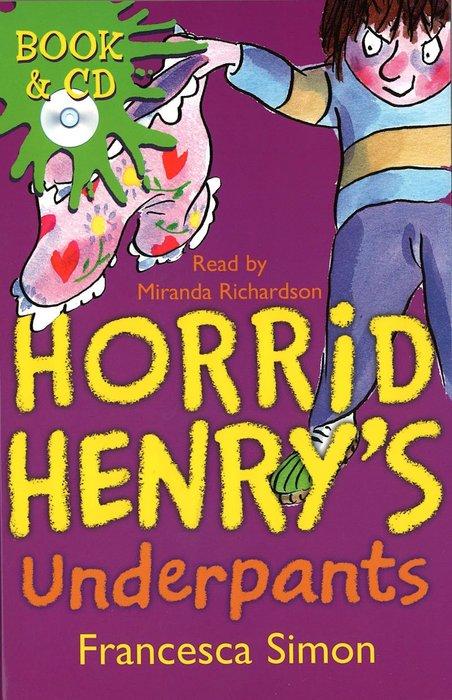 *小貝比的家*HORRID HENRY'S UNDERPANTS/平裝書+CD/7~12歲