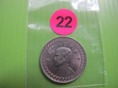錢幣早期~(22)民國二十五年。廿分