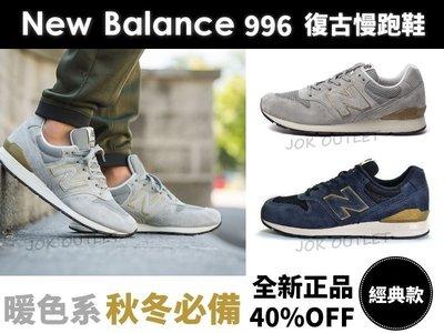 【海外限定】New Balance 996 MRL996 NB 金邊燙金 淺灰 藏青 深藍 麂皮 余文樂 秋冬 男女尺寸