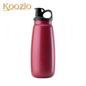 Koozio動感水瓶1000ml (紫嫣紅) (不鏽鋼水瓶/水壺 /不銹鋼杯/ 隨手杯/ 環保杯)