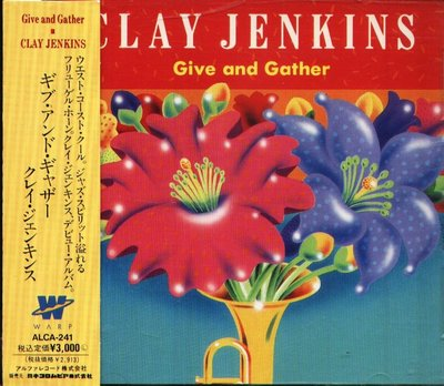 K - GIVE AND GATHER - CLAY JENKINS - 日版 1991