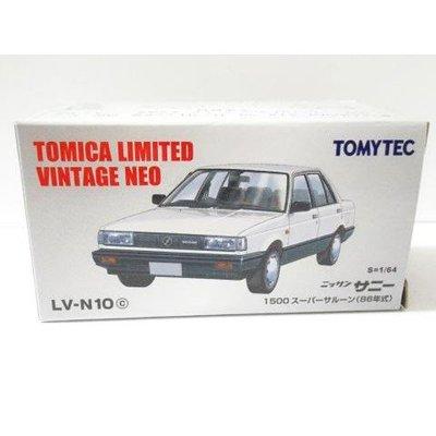 TOMYTEC 1/64 Lv-n10c Nissan 日產 Sunny 1500 Super Saloon