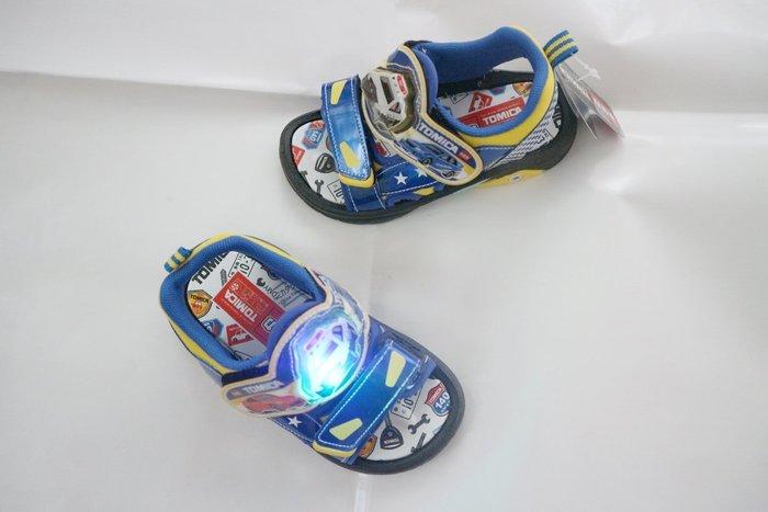 鞋之誠 TOMICA電燈涼鞋NO:3619   新款 涼鞋  臺灣製造MIT  15~19號 15~19CM