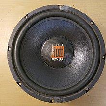 (美國製)THE HOTT SET-UP 10吋超重低音喇叭