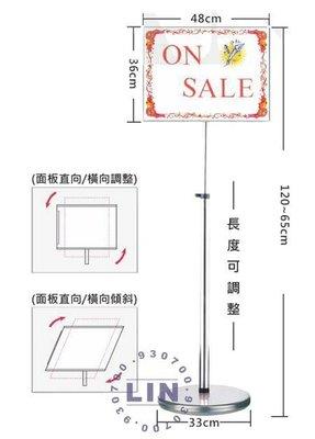 【品特優家具倉儲】P723-02告示牌標示牌P1-06F