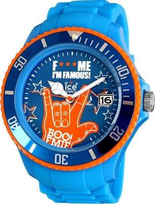 [永達利鐘錶 ] ICE watch 藍色星星造型膠帶日期錶 FM.SS.BEB.S.11原廠公司保固24個月 38mm