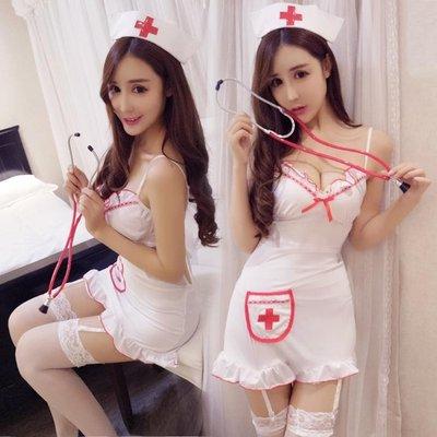 情趣內衣性感護士制服包臀短裙吊襪帶職業套裝清純女仆情趣內衣激情ol夜店