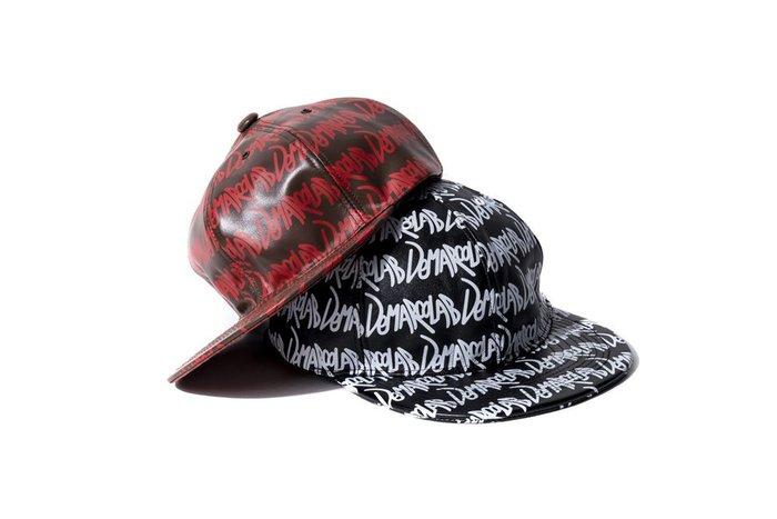 "[ LAB Taipei ] DeMarcoLab "" SS-GRAFF. LEATHER LOW CAP """