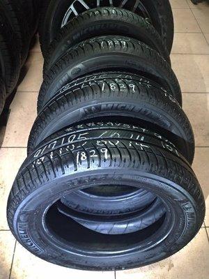 185 60 R 14 落地胎 18年29週製造 米其林 SAVER+ 中古 二手 輪胎 一輪1200元
