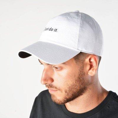 【Cool Shop】NIKE JUST DO IT 925415-100 925415-010白黑 兩色 棒球帽 老帽