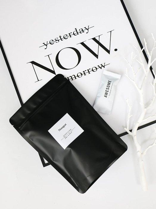 Amy烘焙網:黑色磨砂鋁箔自立袋/黑色鋁箔夾鏈袋/立體底部自立袋/防潮夾鏈袋