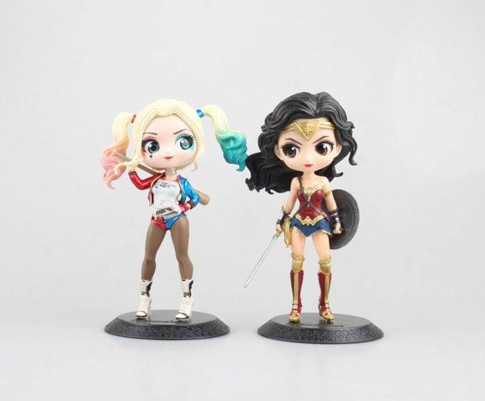 【AVANTER】代購 Q版大眼 神力女超人 小丑女 哈莉 奎茵 盒裝 公仔 玩具 模型 擺件 現貨+預購款