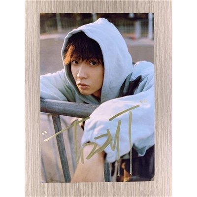 『沖冠』中國有嘻哈TizzyT你的男孩TT親筆簽名照片24款熱門定妝照