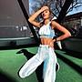 運動休閒褲運動韻律套裝有氧跑步瑜珈LETS SEA-KOI時尚款必備