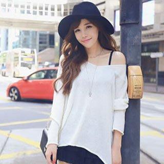 韓版純色針織衫 LZ283 J-11625