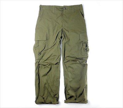 美軍公發 Jungle Fatigue Trousers 越戰 叢林野戰褲 Ripstop poplin US ARMY
