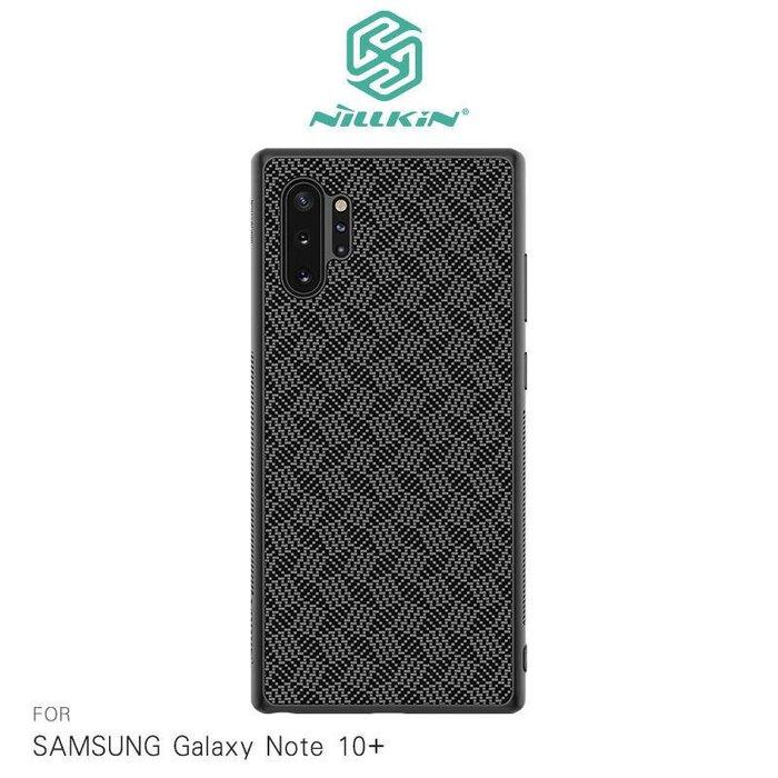 --庫米--NILLKIN SAMSUNG Note10/ Note10+ 菱格紋纖盾保護殼 背殼 手機殼 硬殼