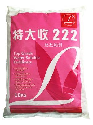 【肥肥】240 特價商特大收-222( 20-20-20 )即溶複合肥料 促進植物生長、開花及結大果香甜(強效平均肥)。