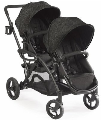 ㊣USA Gossip㊣ Contours Options Elite Tandem Stroller 代買代購