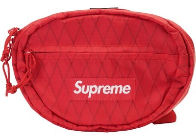 「Rush Kingdom」代購 Supreme Waist Bag (FW18) Red 腰包