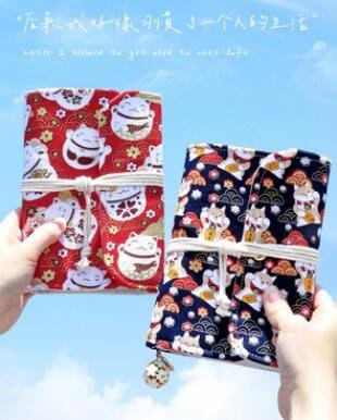 SUNNY雜貨-#熱賣#記賬本日式韓國可愛家用手帳明細賬可放錢收納帳本家庭理財筆記本#收納帳本