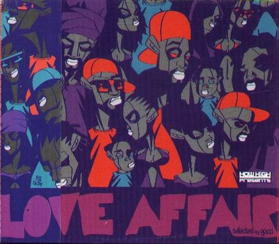 K - Love Affair - 日版 - NEW  T.O.K Tomo Daville Tony Curtis