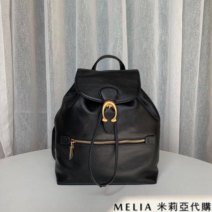 Melia 米莉亞代購 COACH 2019ss 68380 EVIE經典C標 雙肩包 後背包 抽繩開合