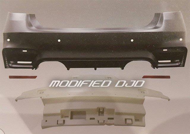 DJD Y0605 BMW F30 12- M3 後保桿含反光片