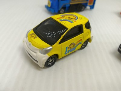 絕版 多美卡 TOMICA NO.23 TOYOTA IQ 7-11 限定 合金車 模型車 玩具車(03