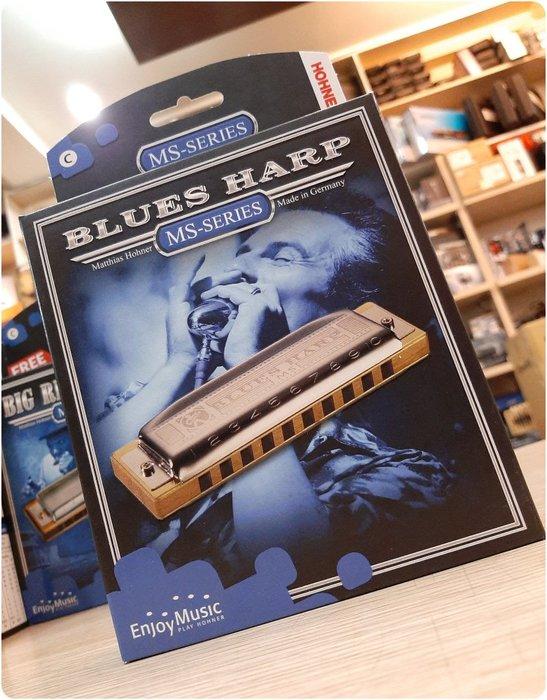 ♪♪學友樂器音響♪♪ HOHNER Blues Harp 十孔口琴 德國製 藍調 民謠 鄉村 多調性