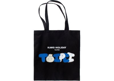 Kaws Taipei tote bag 環保袋