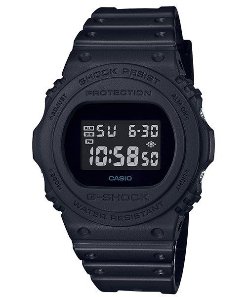 【CASIO G-SHOCK】DW-5750E-1B 復刻經典 背光照明、閃動響報.多功能鬧鈴.耐衝擊運動錶