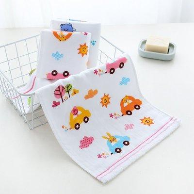 純棉毛巾兒童小方巾親膚柔軟卡通成人透氣面巾加厚洗臉巾寶寶面巾