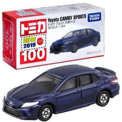 大賀屋 日貨 多美 CAMRY 豐田 100 798538 小汽車 模型 汽車 玩具 合金 Tomy L00011672