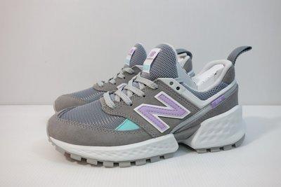 =小綿羊= NEW BALANCE WS574PRC B 灰 紐巴倫 女生 休閒鞋 574 復古鞋 老爹鞋