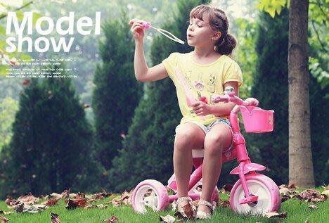 【易發生活館】新品奧特王新款兒童三輪車寶寶腳踏童車1-2-3-5-6歲車嬰兒手推自行車