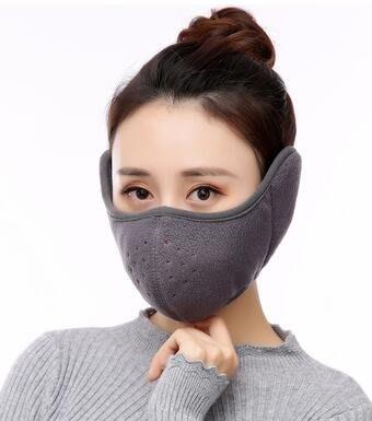 (免運)護耳口罩女季加厚保暖防寒兒童純...