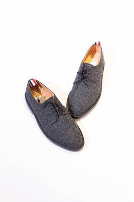 THOM BROWNE Wool felt casual shoes. 羊毛