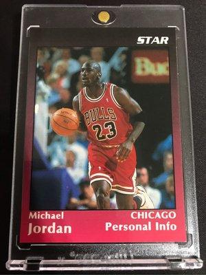 ?1991 Star Promo #5 Michael Jordan