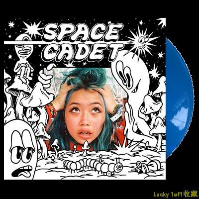 Lucky 1of1收藏BEABADOOBEE Space Cadet 限量 藍膠 LP 黑膠唱片
