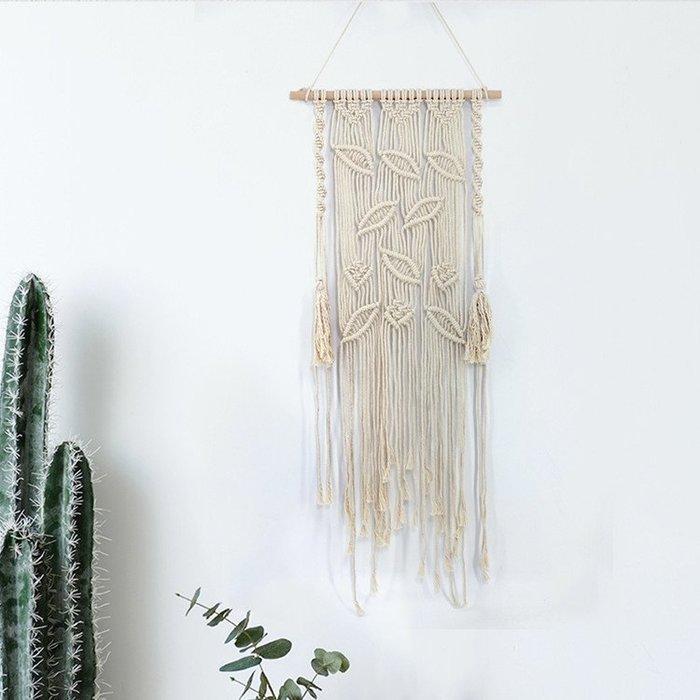 ins掛布波西米亞風編織掛毯民宿酒店樣板房墻飾掛畫創意家居裝飾