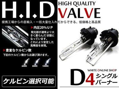 ◇光速LED精品◇D4S 6000K/8000K HID燈管 1顆 直購650元