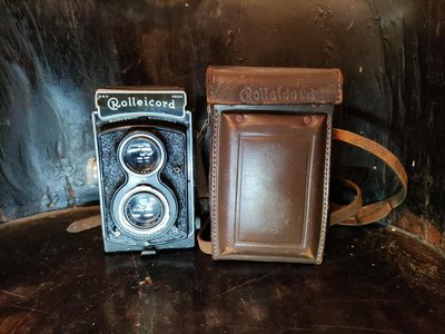 Rolleicord TLR 老式雙反底片相機