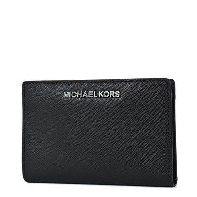 🇺🇸全新 Michael Kors Wallet  男女款 短銀包 錢包 銀包 黑色銀包 (現貨)
