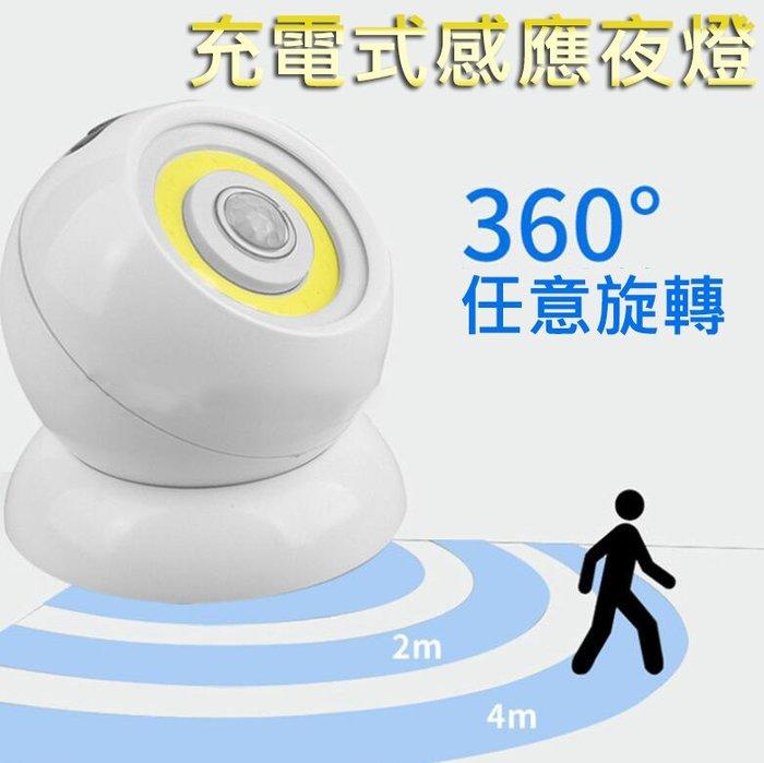【台灣出貨】360度旋轉感應燈 夜燈 感應燈 人體感應 走廊燈 哺乳燈 樓梯燈 感應燈